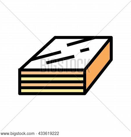 Impreg Timbers Color Icon Vector. Impreg Timbers Sign. Isolated Symbol Illustration