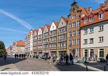 View Of The Historic Old Town In Gdansk