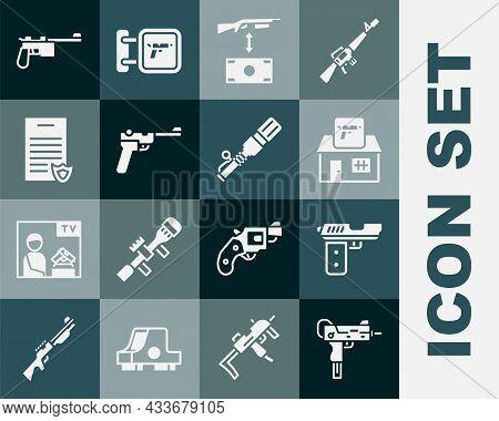 Set Uzi Submachine Gun, Pistol Or, Hunting Shop Weapon, Buying Assault Rifle, Mauser, Firearms Licen