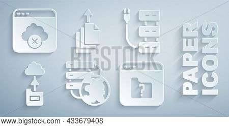 Set Network Cloud Connection, Server, Cloud Technology Data Transfer, File Missing, Data Export And