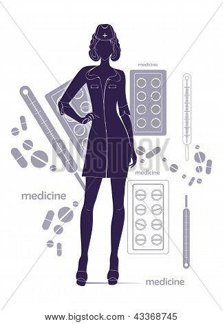 Healthcare background