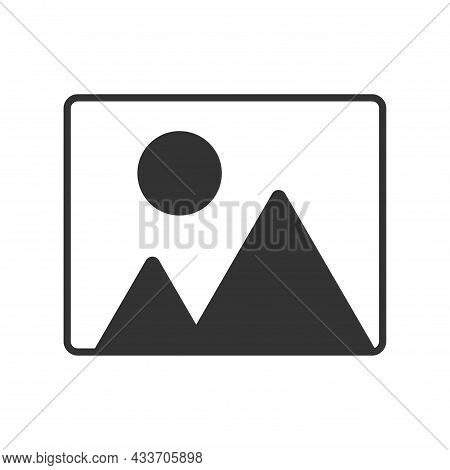 Image Icon. Image Vector Icon. Photo Gallery Icon Vector. Vector Illustration Isolated On White Back