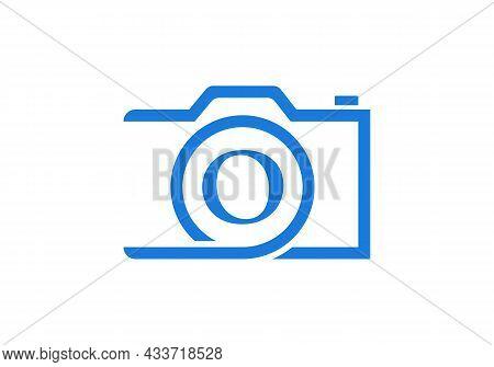 Photography Logo Design On Letter O. Letter O Photography Logo Design. Camera Logo Design Inspiratio