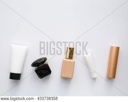 Moisturizing Face Mask, Perfume, Foundation, Eye Cream And Lipstick - Cosmetics Flatley