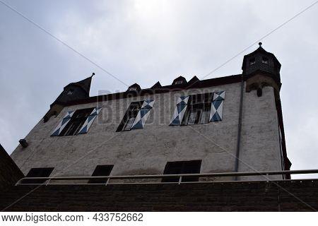 Mosel Front Side Of The Oberburg, Kobern-gondorf