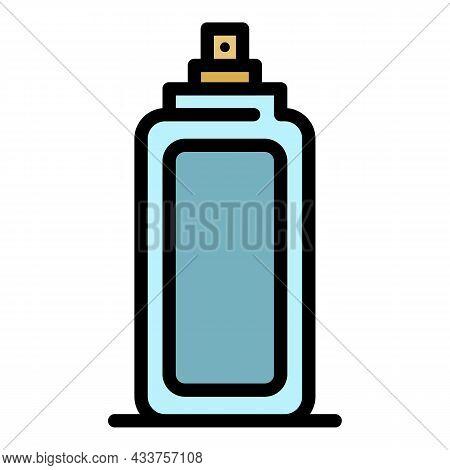 Deodorant Icon. Outline Deodorant Vector Icon Color Flat Isolated