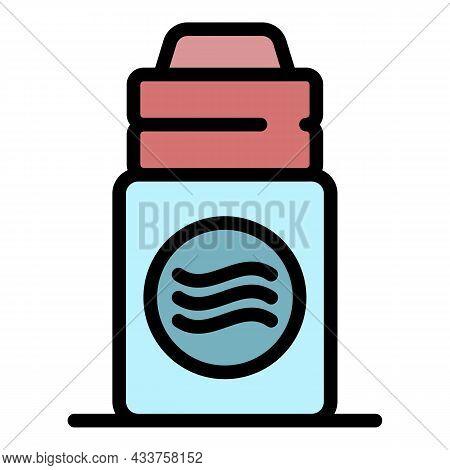 Perfume Deodorant Icon. Outline Perfume Deodorant Vector Icon Color Flat Isolated