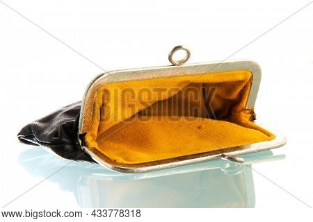 Household wallet isolated over white background