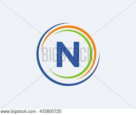 N Letter Logo Design. Modern, Unique Creative N Logo Design. Initial N Letter Business Logo Template