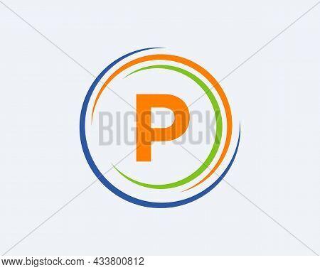 P Letter Logo Design. Modern, Unique Creative P Logo Design. Initial P Letter Business Logo Template