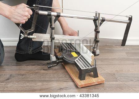 Sawing Mopboard