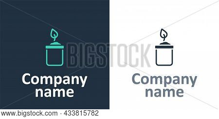 Logotype Sprout In Bottle Icon Isolated On White Background. Seed And Seedling. Leaves Sign. Leaf Na
