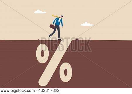 Financial Pitfall, Mistake Or Failure, Mortgage, Loan Or Debt Trap Or Risk Management, Investment Pr