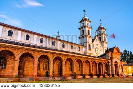 Monastery Of Santa Rosa De Ocopa Near Huancayo In Junin, Peru