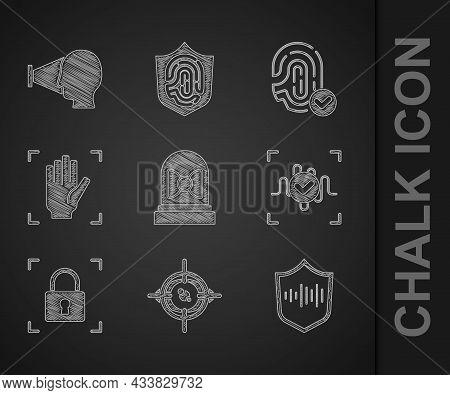 Set Motion Sensor, Eye Scan, Shield Voice Recognition, Voice, Fingerprint With Lock, Palm, And Face
