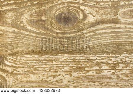 Old Grunge Dark Textured Wooden Background, Surface Of Brown Wood Close Up