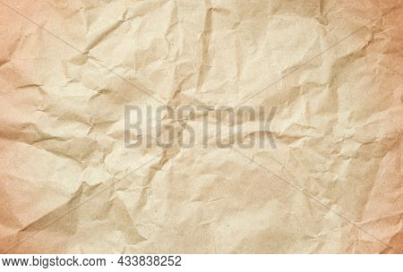 Old paper background. Old crumpled vintage paper, old crumpled paper background, old paper surface, paper background, paper surface, paper pattern, paper material, paper texture