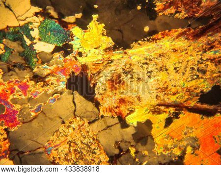 Photo Of The Optical Mineralogy And Thin Section Microscopy Of Petrography