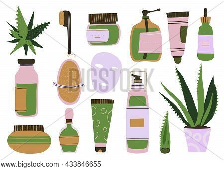 Homemade Cosmetic From Aloe Vera.make Up.organic Face Mask.natural Skin Care.everyday Love To Yourse