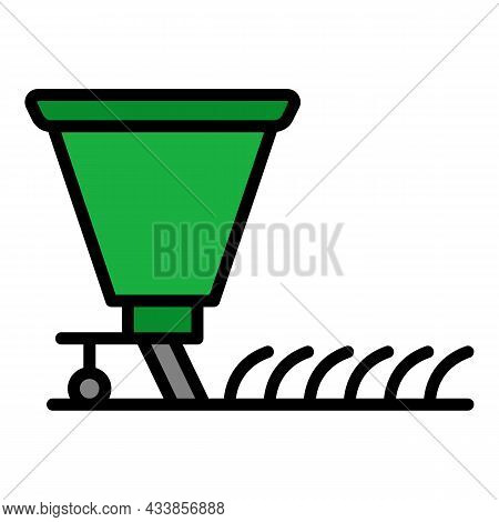 Agriculture Equipment Icon. Outline Agriculture Equipment Vector Icon Color Flat Isolated
