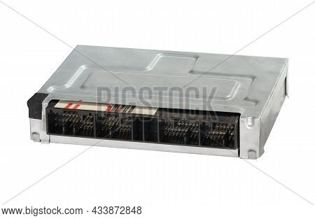 Control Unit Module Tcu Tcm Ecu Ecm For Automatic Transmission Abs (with Clipping Path) Isolated On