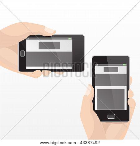 Responsive Mobile Set