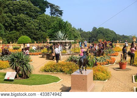Osborne House, Isle Of Wight, 2021. Queen Victoria's Home And Gardens Are Beautifully Landscaped Wit