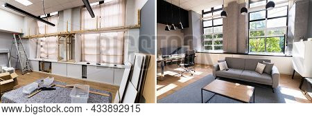 House Interior Renovation And Remodel Before After
