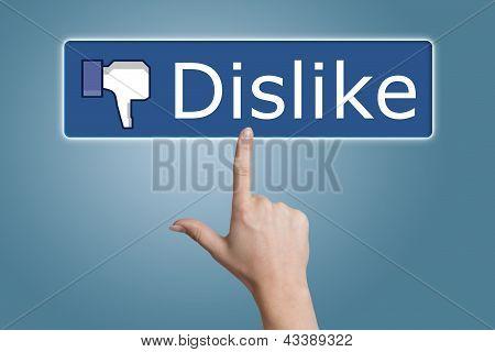 Pressing Dislike Button