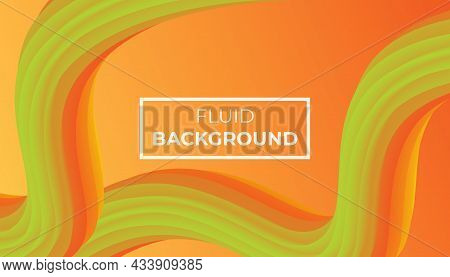 Orange Fluid Background Of Gradient Smooth Background Texture On Elegant Rich Luxury Background Web Template Or Website Abstract Background Gradient Or Textured Background Orange Paper.