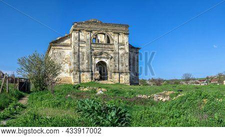 Catholic Church In Kamenka Village, Odessa Region, Ukraine