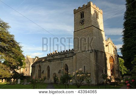 St. Mary's Church, Bibury, England
