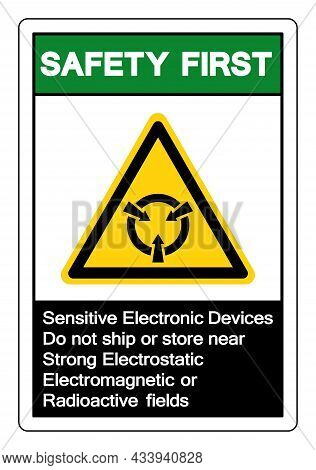 Safety First Sensitive Electronic Devices Do Not Ship Or Store Near Strong Electrostatic Electromagn