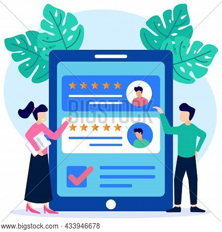 Isometric Flat Vector Illustration Of Recruitment Concept. The Character Of The Businessman Choosing