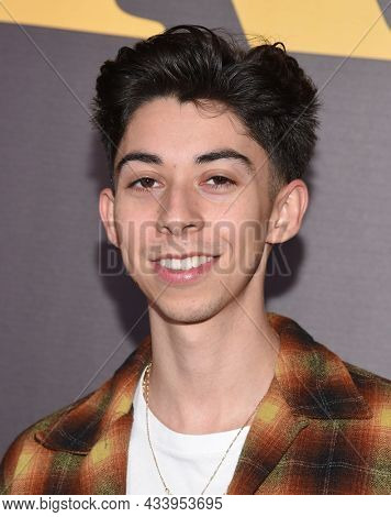 LOS ANGELES - SEP 01: Fabrizio Guido arrives for the 'Runt' Los Angeles Premiere on September 22, 2021 in Hollywood, CA