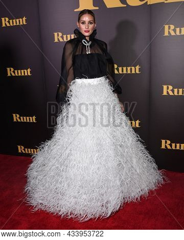 LOS ANGELES - SEP 01: Olivia Palermo arrives for the 'Runt' Los Angeles Premiere on September 22, 2021 in Hollywood, CA