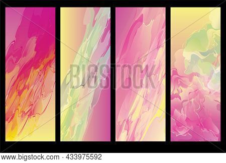 Abstract Purple Paint Bakcground Acrilic Texture. Modern Art. Contemporary Art. Colorful Canvas.