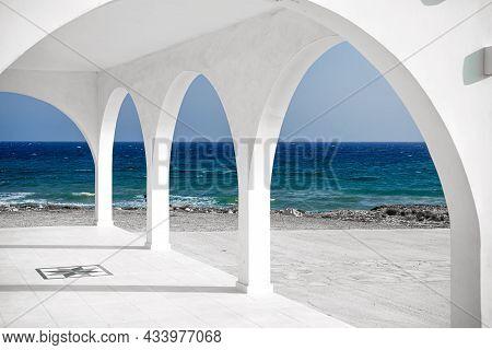 Arches Of Agia Thekla Church. Ayia Napa, Cyprus