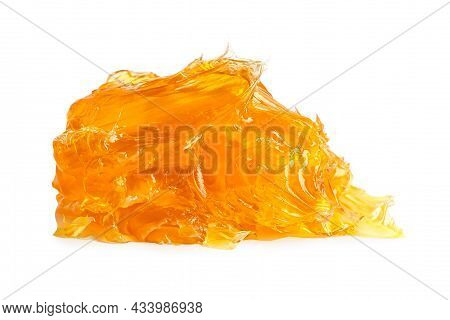 Grease Yellow Lithium Machinery Lubrication For Automotive And Industrial  Isolated On White Backgro