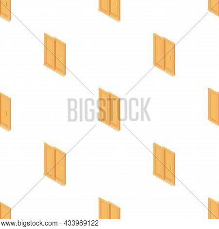 Door Coupe Pattern Seamless Background Texture Repeat Wallpaper Geometric Vector