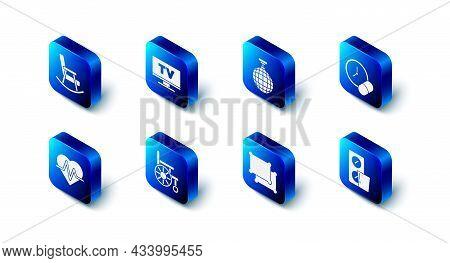 Set Smart Tv, Disco Ball, Medicine Pill Or Tablet, Pills Blister Pack, Pillow, Wheelchair, Heart Rat