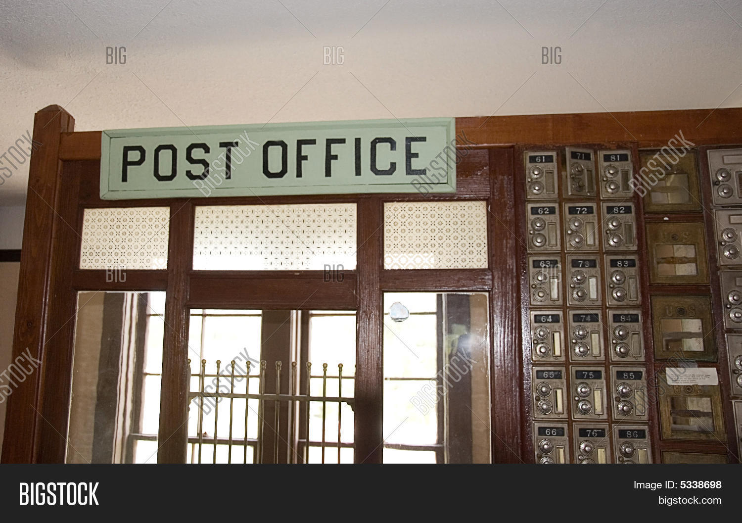 Perfect Old Fashioned Antique Post Office