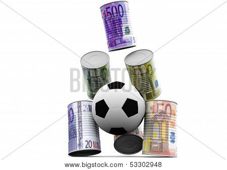 Shoot Money Cans