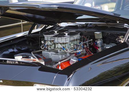 1968 Chevy Biscayne Engine