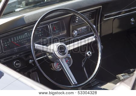 1968 Chevy Biscayne Interior