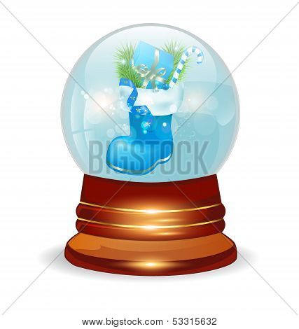 Christmas Decorative Snow Ball