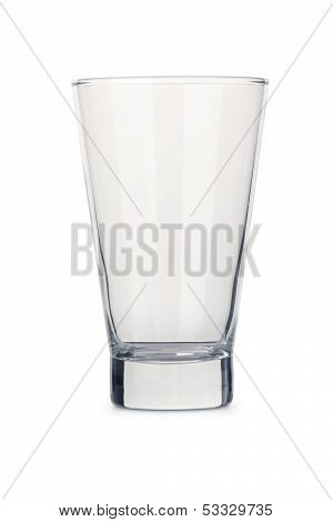 Generic Isolated Empty Clear Glass Tumbler