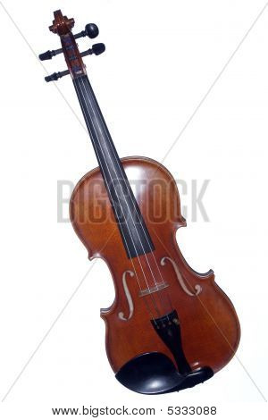 Violin Complete Isolated On White