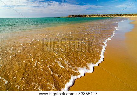 Beach Waves Closeup