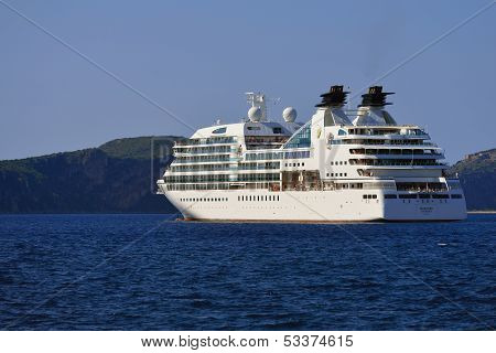 Luxury Cruise Ship Seabourn Odyssey